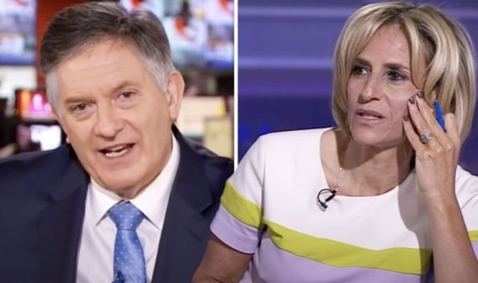 Emily Maitlis admits Simon McCoy 'made it look like she'd stabbed him' in BBC on-air prank