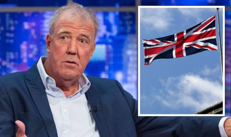 Jeremy Clarkson slams Union Jack critics saying flag should make us feel 'warm and gooey'
