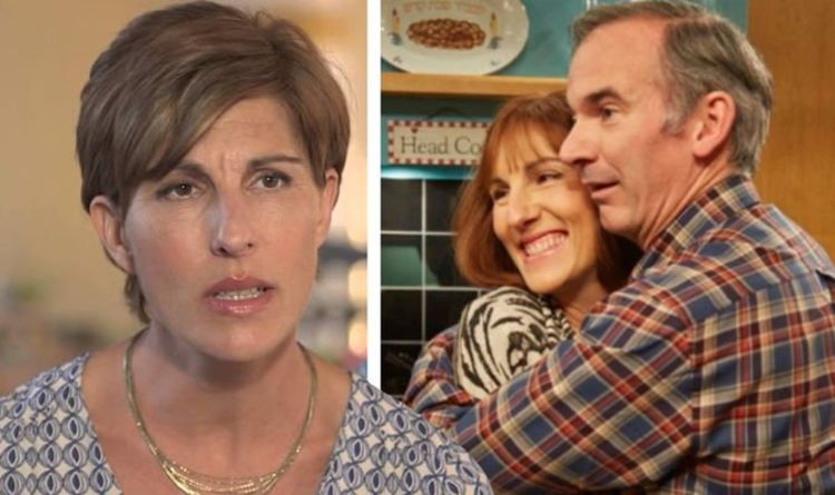 Tamsin Greig 'couldn't take her eyes off' co-star Paul Ritter the first time she saw him
