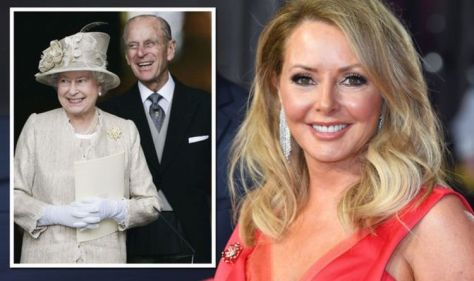 Carol Vorderman wore Argos necklace for private lunch with Prince Philip and the Queen