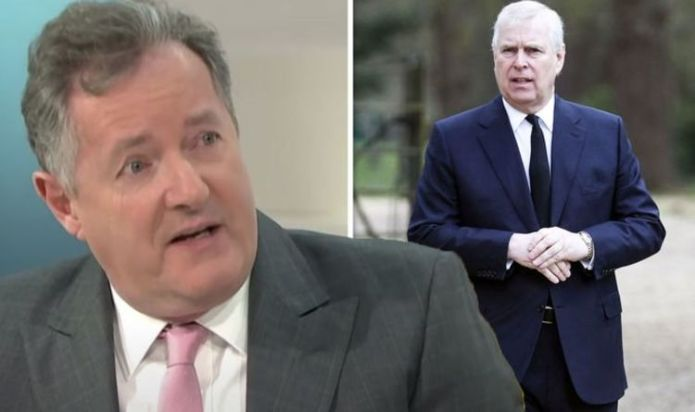 'How dare he!' Piers Morgan erupts at 'brass-necked' Prince Andrew over uniform demands