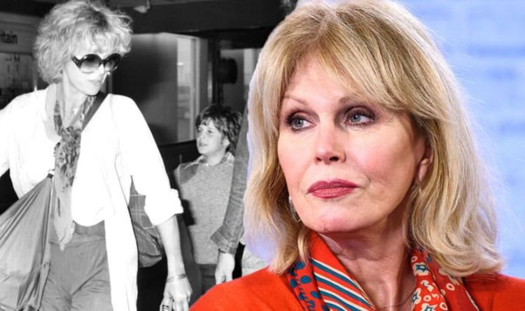 Joanna Lumley's son had letters that pleaded with her to rescue him 'taken by teacher'
