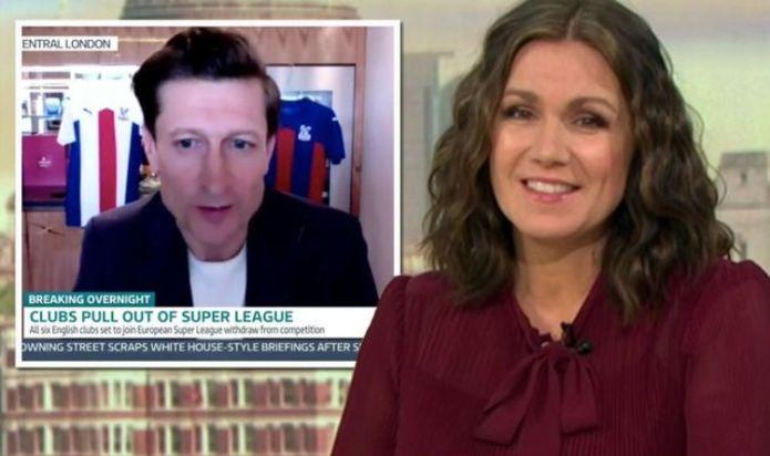'Bet you're glad Piers wasn't on' Susanna Reid causes stir ex Steve Parish interview