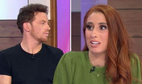 Stacey Solomon fuming as Joe lets slip wedding date live on air 'Why did I bring you here'