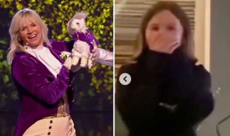 Zoe Ball shares rare daughter moment as she's unveiled as The Masked Dancer's Llama