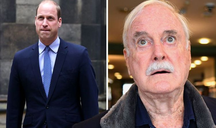 'Dull as Prince William' John Cleese aims jibe at royals as he bemoans Euro 2020 matches