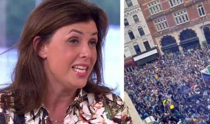 Kirstie Allsopp vents frustrations over football crowds: 'I'd be p****d off as hell'