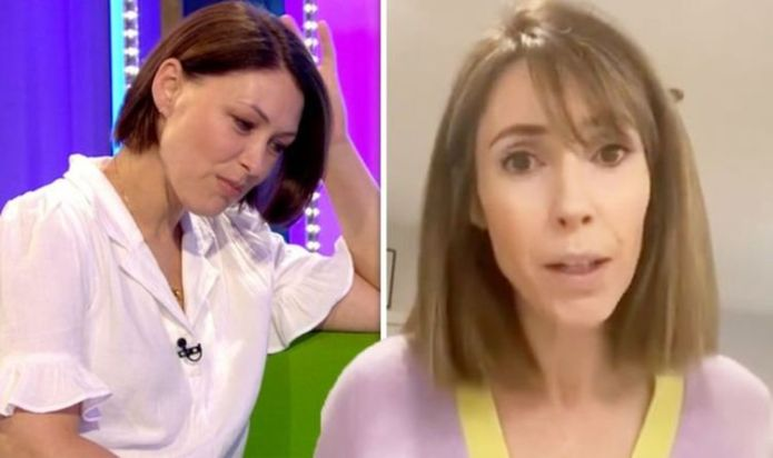 Alex Jones apologises to her The One Show replacement Emma Willis for issue amid absence