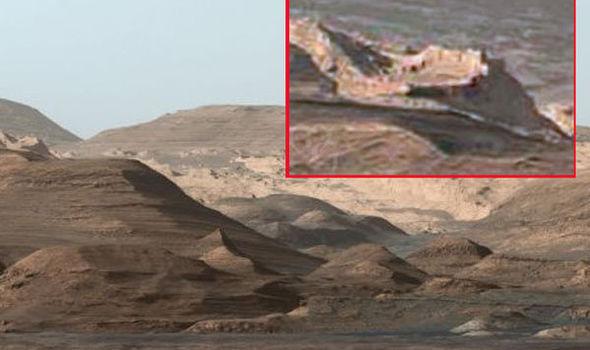SHOCK NASA IMAGES: Amazing 'WALLED CITY' found on Mars ...