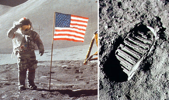 MOON LANDING HOAX Film claims to show how NASA faked