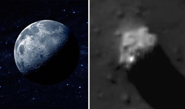 Secret spaceship base 'found on the Moon' - UFO hunters in ...