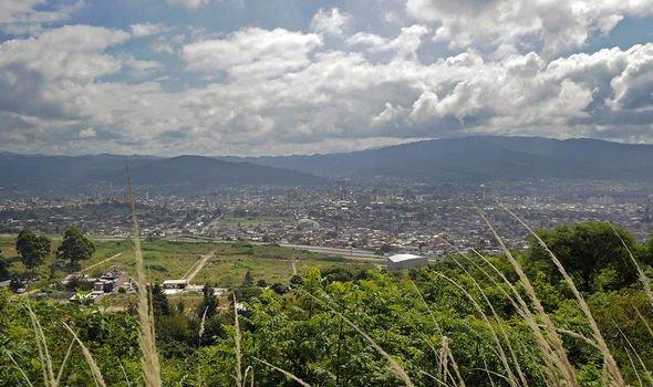 Bible news: The figure appeared over San Salvador de Jujuy