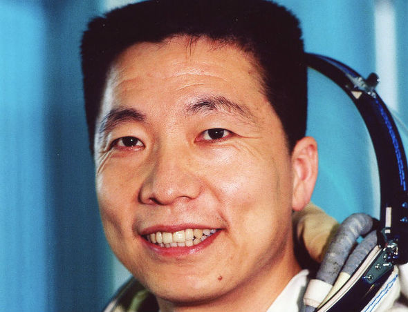 Sound of an alien Chinese astronaut Yang Liwei reports