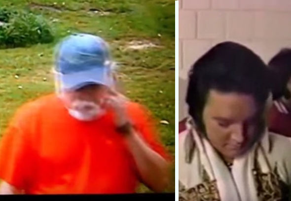 Comparisons between Bill and Elvis made in conspiracy theory videos.