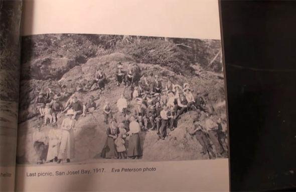 Time travel photo proof Cape Scott Story