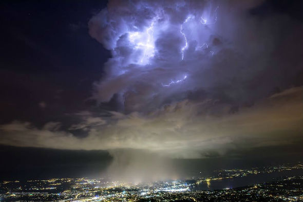 Image result for weather above cern