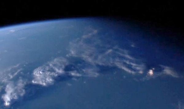 FLOATING CITY? 'NASA live stream' shows object miles long ...