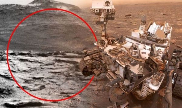 NASA proof of aliens – What is this Mars 'alien dome ...