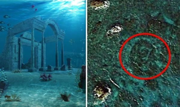 Atlantis found? Conspiracy theorists spot underwater ...