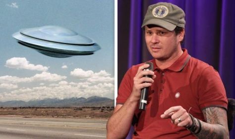 'Evidence is there' Rocker Tom DeLonge says aliens are watching us and 'governments know'