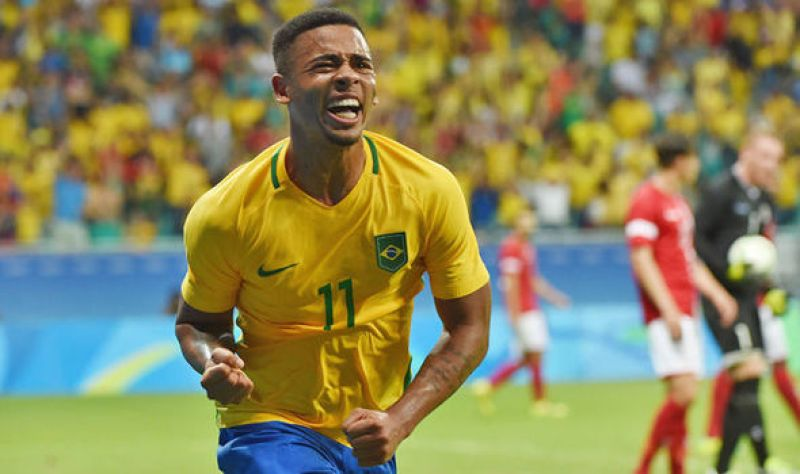 Denmark 0 - Brazil 4: Man City new boy Gabriel Jesus nets in Rio Olympics  clash   Olympics 2016   Sport   Express.co.uk