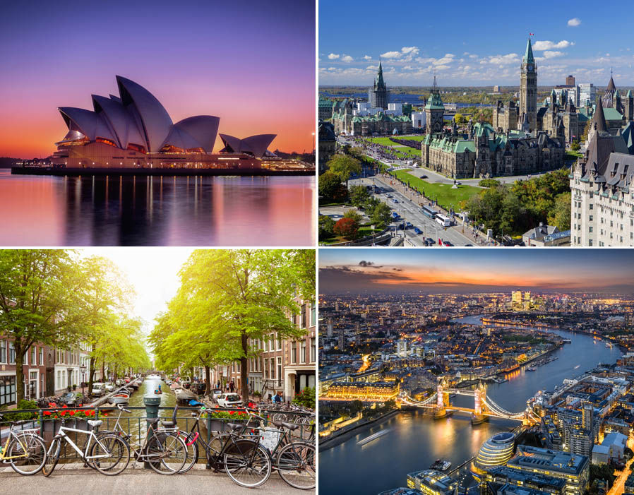 21 of the best cities in the world