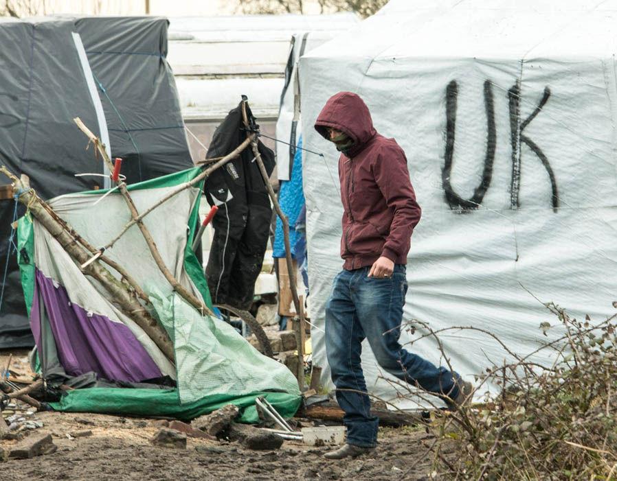 Migrant Calais Jungle