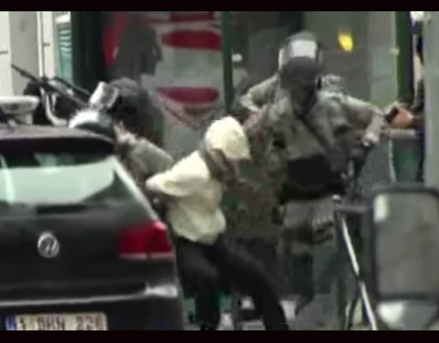 Paris attacks suspect Salah Abdeslam shot and arrested in Brussels