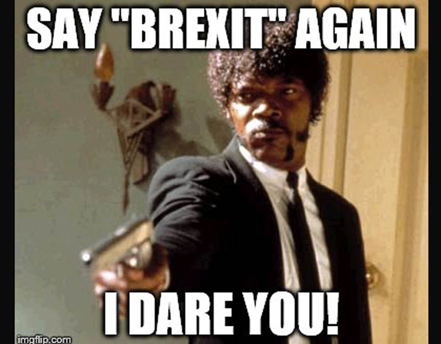 Samuel L Jackson is fed up with hearing about Brexit