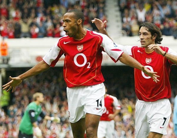 Thierry Henry | Robert Pires' Arsenal five-a-side dream ...