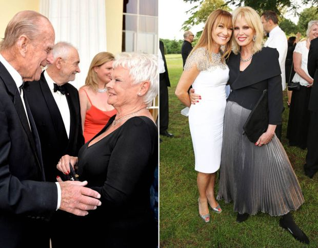 Former James Bond stars attend the Diamonds are Forever Gala