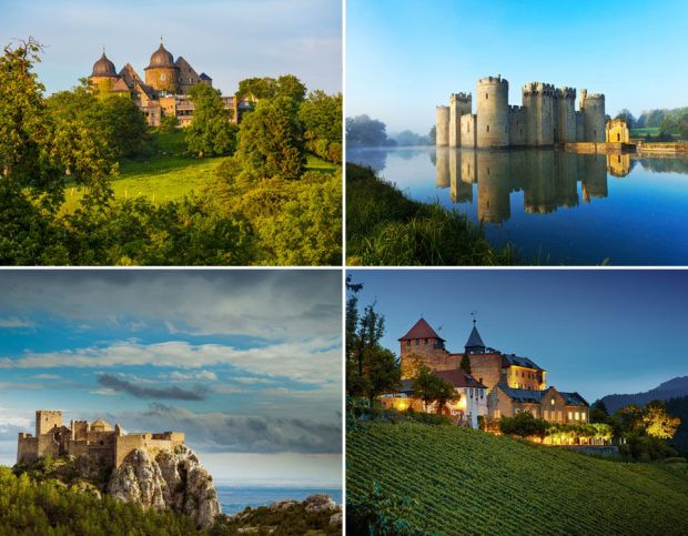 King of all castles. Fairytale castles you can actually sleep in