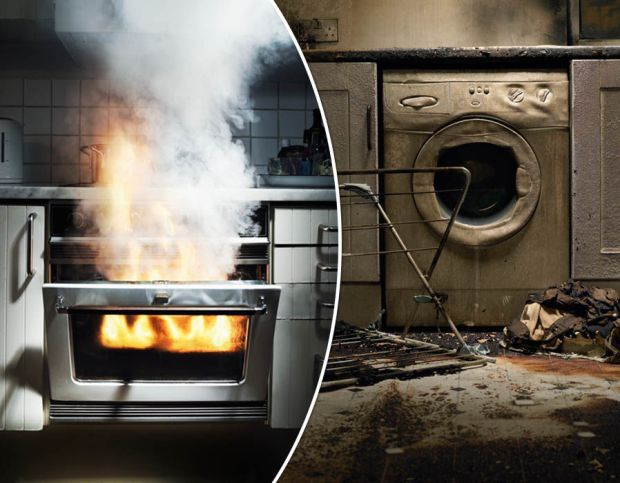 Here are the proportion of fires caused by faulty home appliances between 2011-2014