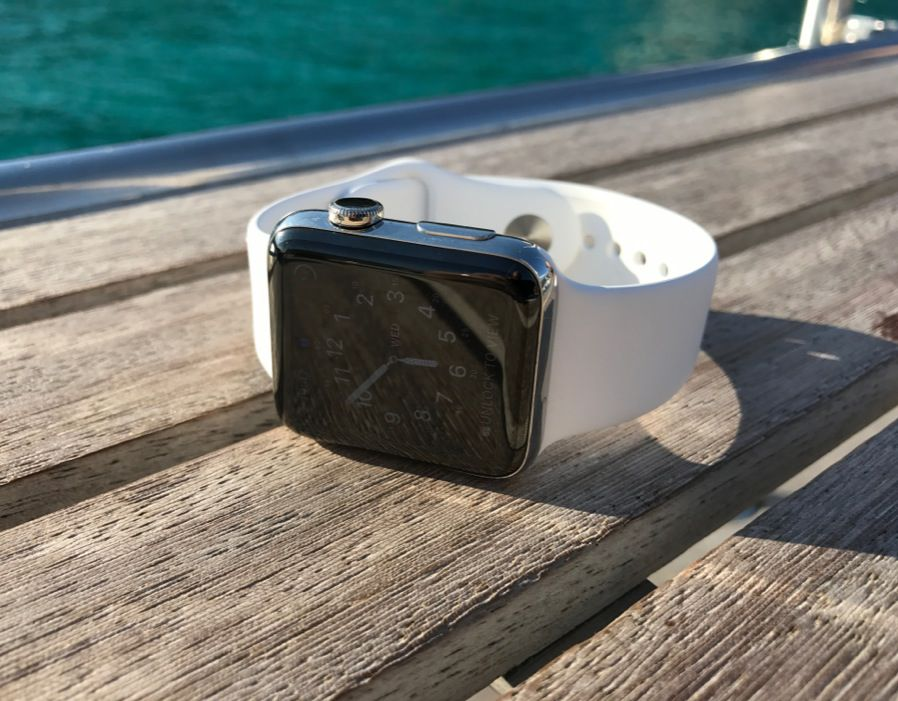Apple Watch Series 2 includes an in-built GPS, faster processor and brighter screen