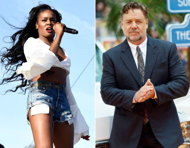 Azealia Banks v Russell Crowe: Azealia has revealed that she will no longer take legal action against Russell Crowe after claiming the Hollywood actor 'choked' her during a heated row in his hotel room