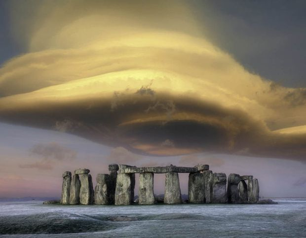 Stonehenge - England - One of the oldest and best preserved prehistoric monuments in the world is a mystery because we don't how or why it was built