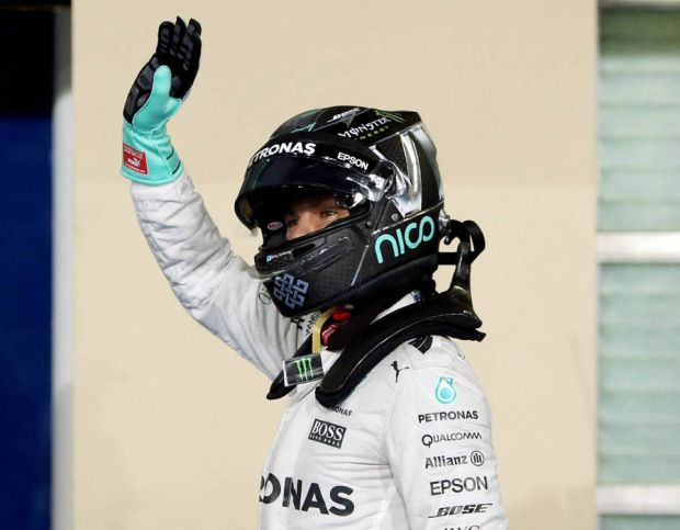 Nico Rosberg retired