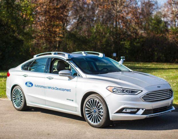 Ford next-generation Fusion Hybrid autonomous car