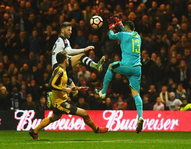 GK: David Ospina - 6: Arsenal's 'cup keeper' didn't make any mistakes