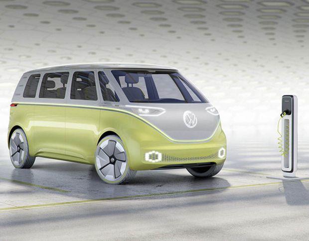 Volkswagen I.D. Buzz concept minivan