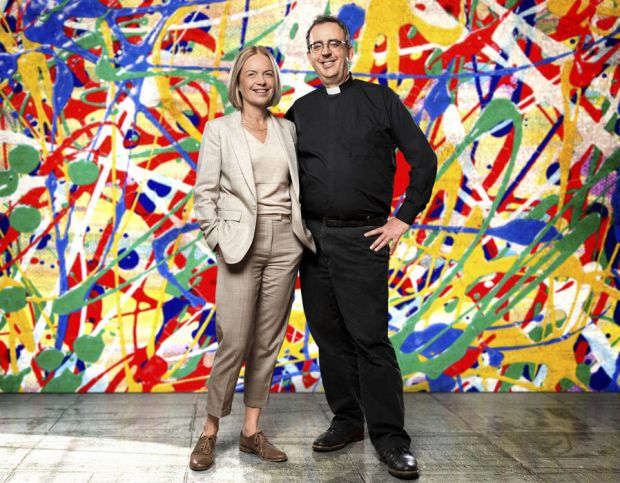 Mariella Frostrup and Reverend Richard Coles will be presenting a new TV show called The Big Painting Challenge