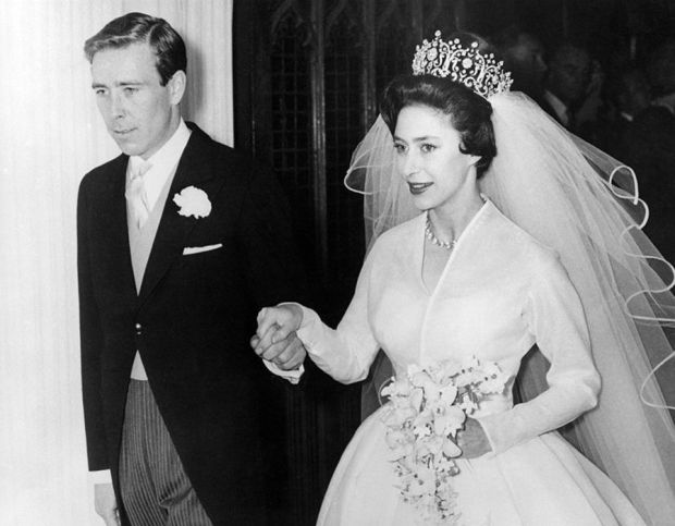 The wedding of Princess Margaret and Lord Snowdon in 1960 in London