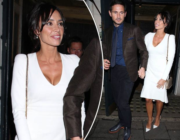 Christine Bleakley wows in white