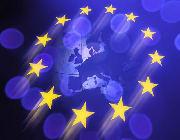 Euro stars over Europe