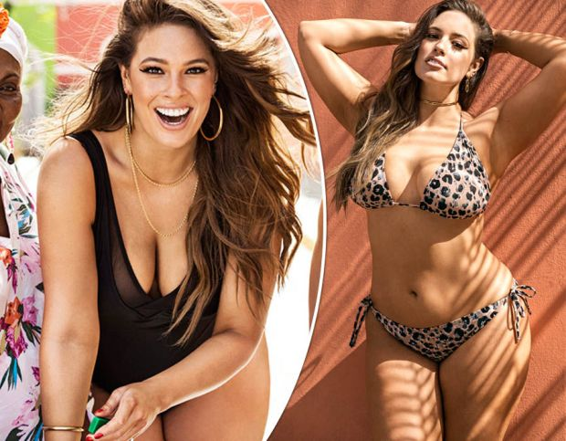 Ashley Graham wows in Swimsuits For All campaign