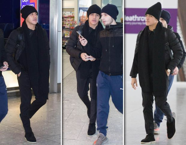 Alexis-Sanchez-Heathrow-Airport-Arsenal-Bayern