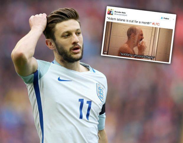 Adam-Lallana-injury-thigh-Liverpool-Twitter
