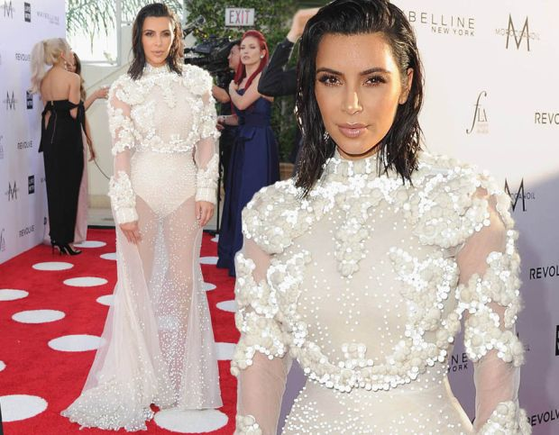 Kim Kardashian steals the show at LA fashion event
