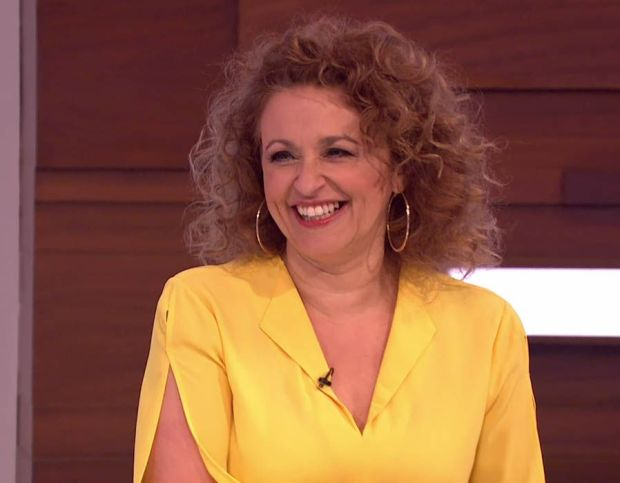 Nadia Sawalha Botox teeth