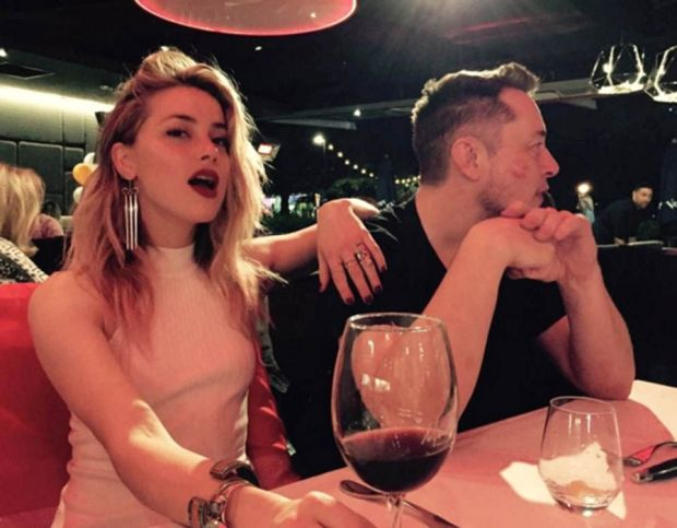 Amber Heard posted a picture alongside Elon Musk sparking dating rumours